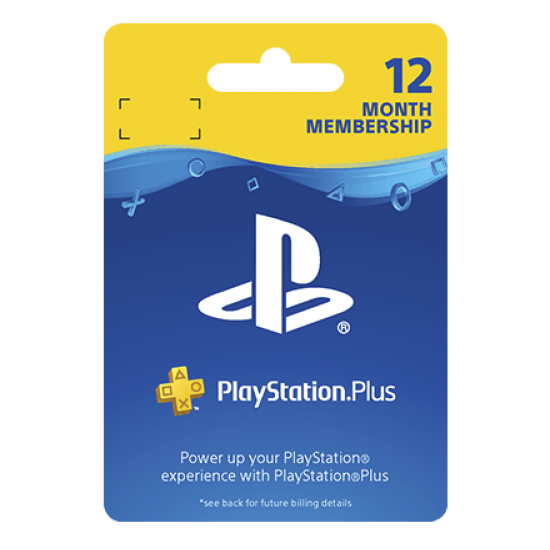 PlayStation - PLUS 12 MONTH